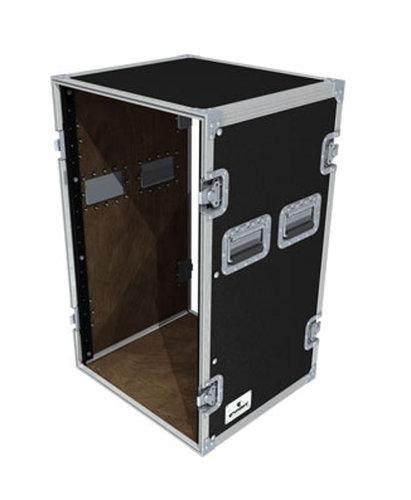 Grundorf Corp T8-R1818B Tour 8 Series Rack,18 Space, Black T8-R1818B