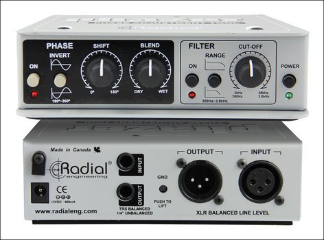 Radial Engineering PHAZER Class-A Phase Adjuster PHAZER