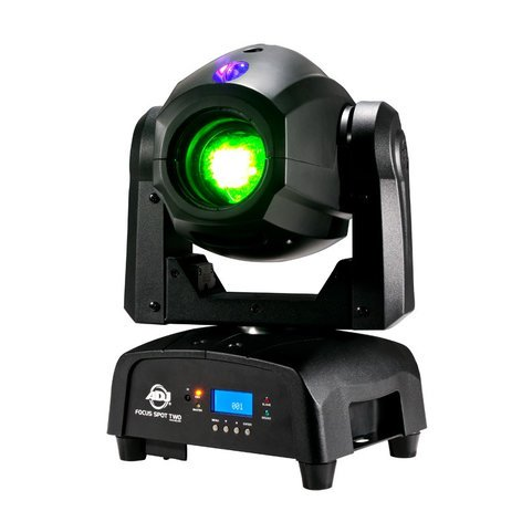 ADJ Focus Spot Two [B-STOCK] 75W LED Moving Head with Motorized Focus & Gobo Wheel FOCUS-SPOT-TWO-OPEN