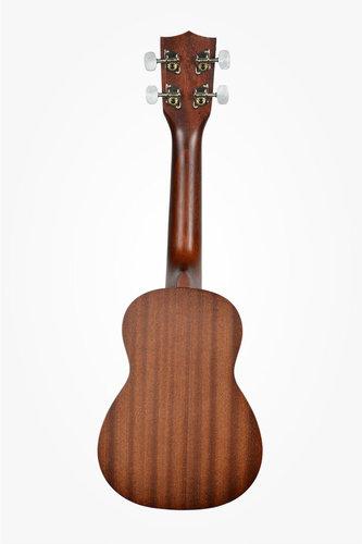 Kala Brand Music Co. KA-15S-S Soprano Ukulele with Spruce Top and Mahogany Back, Satin Finish KA-15S-S