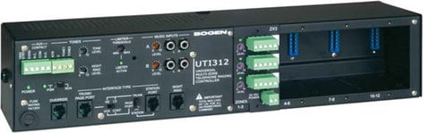 Bogen Communications UTI312 3 to 12 Zone Paging Controller with Paging Module UTI312