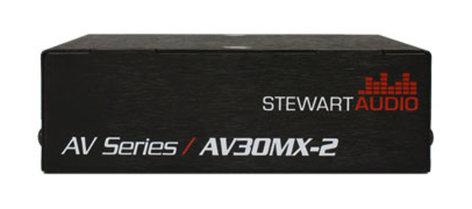 Stewart Audio AV30MX-2 Mixer Amp 30W x 2 @ 4/8 Ohms AV30MX-2