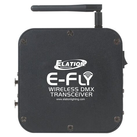 Elation Pro Lighting E-FLY-TRANSCEIVER  E-Fly Wireless DMX Transceiver E-FLY-TRANSCEIVER