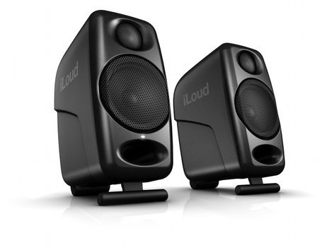 IK Multimedia iLoud Micro Monitor Ultra-Compact, High Quality, Sold in Pairs ILOUD-MICRO