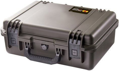 Pelican Cases IM2300-00001 iM2300 Storm Medium Case with Foam Interior, Black IM2300-00001