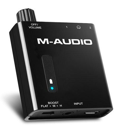M-Audio BASSTRAVELER  Headphone Amplifier BASSTRAVELER