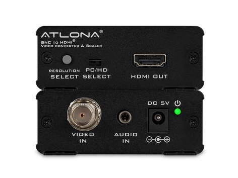 Atlona Technologies AT-HD120 Composite to HDMI Converter & Scaler AT-HD120