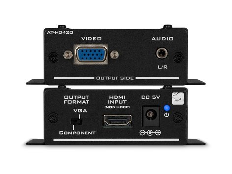 Atlona Technologies AT-HD420 HDMI to VGA/Component Converter (NOT HDCP) AT-HD420