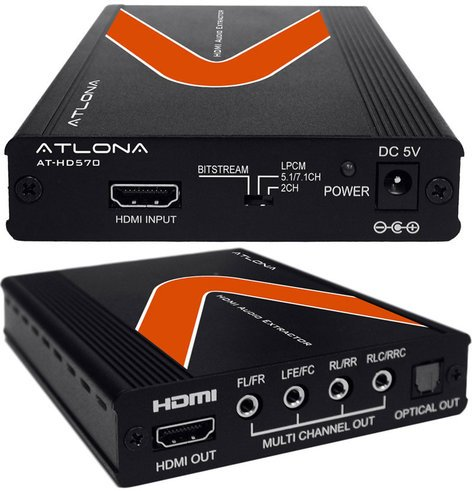 Atlona Technologies AT-HD570 HDMI Audio De-Embedder AT-HD570