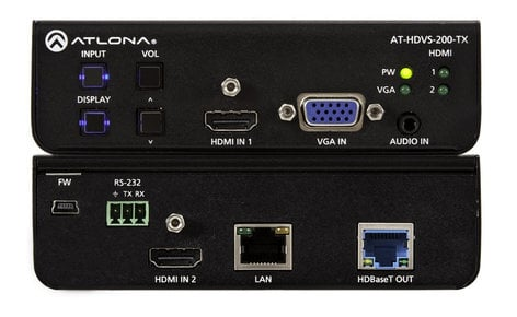 Atlona Technologies AT-HDVS-200-TX 3x1 HDBaseT Switcher for HDMI and VGA Inputs AT-HDVS-200-TX