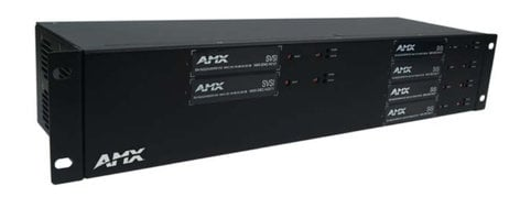 AMX NMX-ACC-N9206 2RU Rack Mount Cage with Power for Six SVSI N-Series Card Units FGN9206