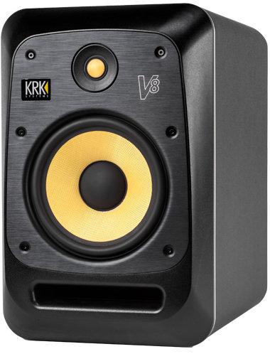 """KRK V8 S4 Powered 8"""" Studio Monitor V8S4"""