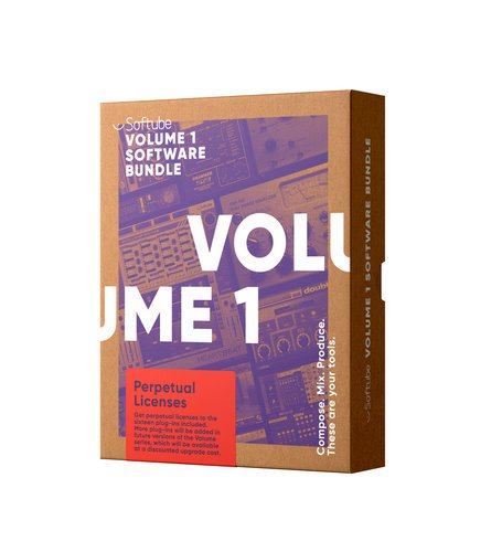 Softube Volume 1 12-Month Subscription [DOWNLOAD] Audio Production Plugin Bundle VOLUME-1-SUB