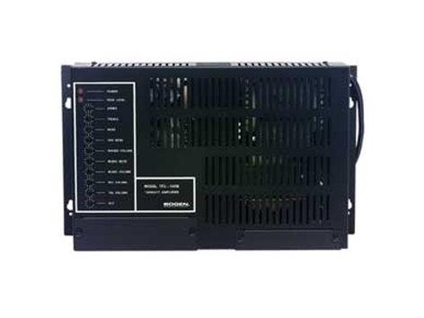 Bogen Communications TPU60B 60 Watt Paging Amp TPU60B