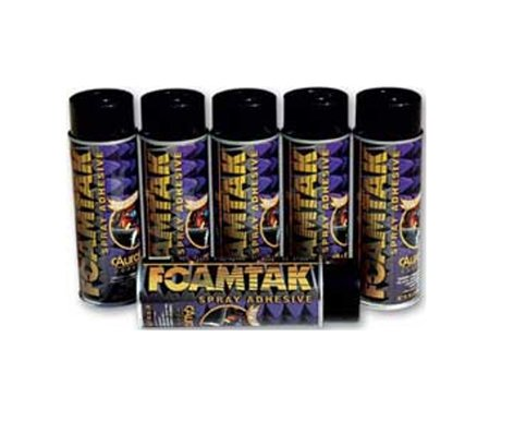 Auralex FOAMTAK-SINGLE Acoustic Foam Spray Adhesive, Single Can FOAMTAK-SINGLE