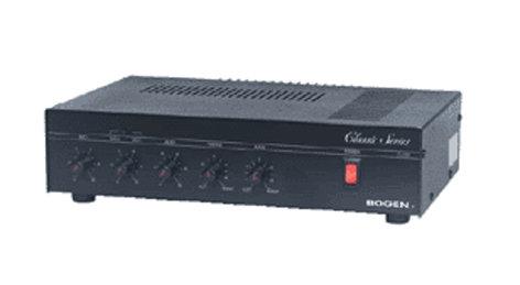 Bogen Communications C100 100 Watt Paging Mixer/Amplifier C100-BOGEN