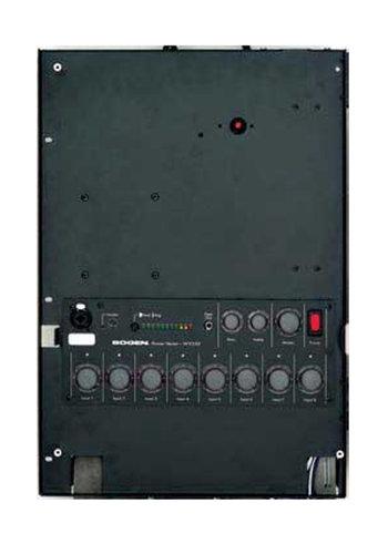 Bogen Communications WV100 Mixer/Amp, Wall-Mount, 8 Module Bays, 100 Watts WV100