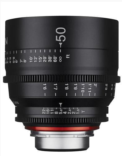 Rokinon XN50-C 50mm T1.5 Professional Cine Lens for Canon XN50