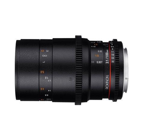 Rokinon DS100M 100mm T3.1 100mm T3.1 Cine DS Full Frame Macro Lens DS100M