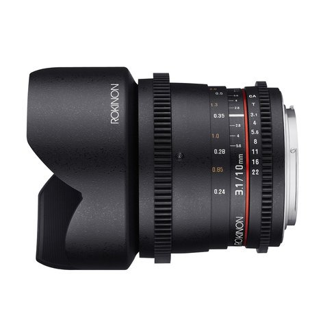 Rokinon 10mm T3.1 Cine DS Ultra Wide Angle Lens DS10M