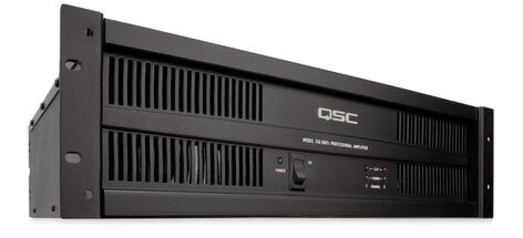 QSC ISA500TI 260W @ 8 Ohms Power Amplifier (with Isolated 25, 70, 100 Volt Outputs) ISA500TI