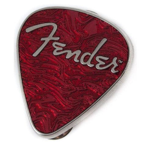 Fender 910-0208-000 Guitar Pick Pin in Red 910-0208-000