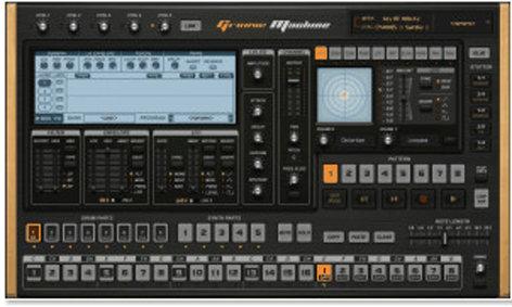 Image Line Groove Machine Groove Box Software Virtual Instrument IL-GROOVE-MACHINE