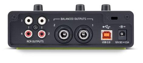 Novation Audiohub 2x4 Compact Audio Interface & USB Hub AUDIOHUB-2X4