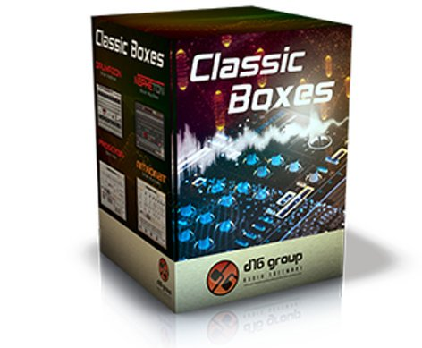 D16 Group Classic Boxes Roland Collection Virtual Software Instrument Plugin Bundle CLASSIC-BOXES-BUNDLE