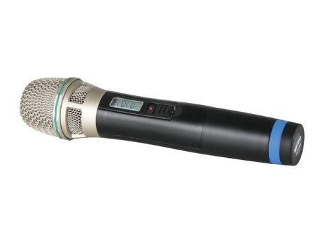 MIPRO ACT32H-5NC Cardioid Condenser Handheld Transmitter Microphone, 5NC Version ACT32H-5NC