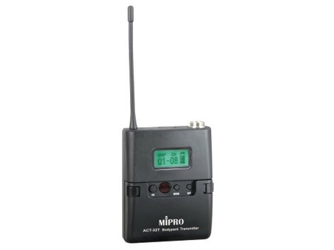 MIPRO ACT-32T Miniature Bodypack Wireless Transmitter, 5A Frequency Range ACT32T-5A