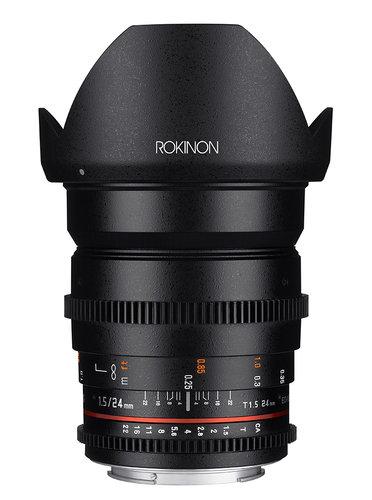 Rokinon 24mm T1.5 Full Frame Wide Angle Cine DS Lens DS24M