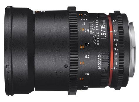 Rokinon Ds35m 35mm T1 5 Full Frame Wide Angle Cine Ds Lens
