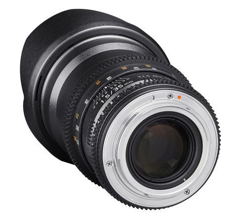 Rokinon 35mm T1.5 Full Frame Wide Angle Cine DS Lens DS35M