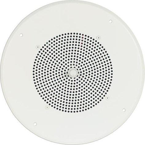 Bogen Communications S86T725PG8UVR  Ceiling Speaker with Bright White Grill S86T725PG8UVR