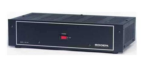 Bogen Communications BPA60 60W Power Amplifier BPA60