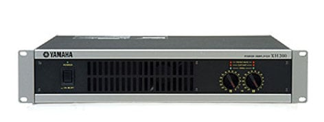 Yamaha XH200 Distribution Power Amp, 200w, 4&8 Ohms, 70/100v, 2u XH200