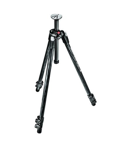 Manfrotto 290 Xtra Carbon 3 Section Carbon Fiber Tripod with Included Carry Bag MT290XTC3US