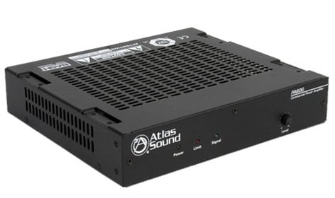 Atlas Sound PA60G 60W 1 Channel Power Amplifier with Global Power Supply PA60G