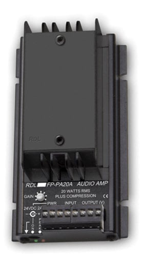 RDL FP-PA20A 20W Power Amplifier with 70 & 100 V Outputs FP-PA20A