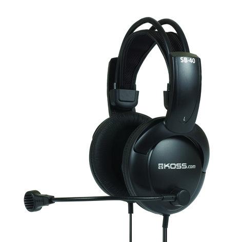 Koss SB40 Full Size Stereo Communication Headset SB/40