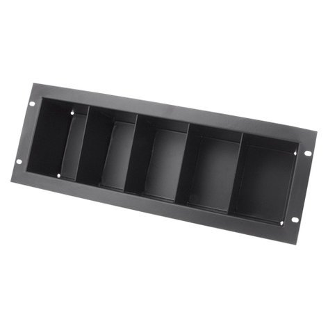 Atlas Sound CD4 3RU Rackmount CD Storage Shelf, Holds 40 CDs CD4