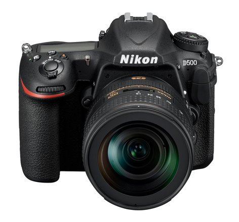 Nikon D500 16-80-KIT 20.9MP DX-format DSLR and 16-80mm Lens with 4K Video D500-16-80-KIT