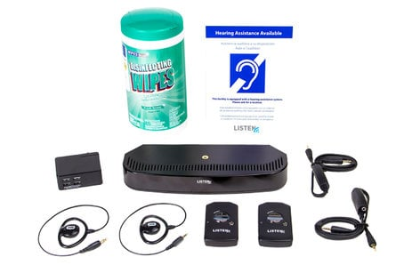 Listen Technologies LS-93-01  ListenIR Advanced iDSP Level I System, LT-84/LR-5200 Included LS-93-01