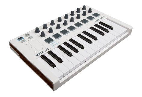 Arturia MiniLab Mk II Universal MIDI Controller with Recording and Production Software MINILAB-MKII