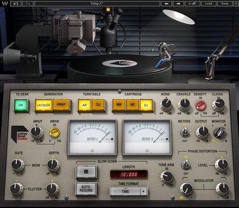 Waves Abbey Road Vinyl [DOWNLOAD] Vintage Sound Production Plugin ABRDVNYL