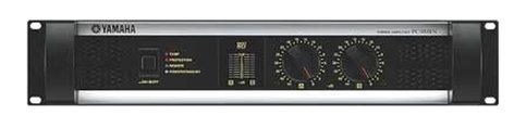 Yamaha PC3301N Power Amplifier, 315W + 315W (8 ohm Stereo)/1600W (4 ohm Bridged) PC3301N