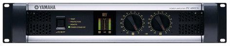 Yamaha PC4801N Power Amplifier, 475W + 475W (8 ohm Stereo)/2400W (4 ohm Bridged) PC4801N