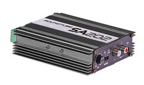 SoundTube SA202-RDT SoundTube Amp W/AC-SA202-RMA SA202-RDT