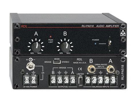 Radio Design Labs RU-PA518 9W @ 4 Ohms per Channel Mono/Stereo Power Amplifier RUPA518